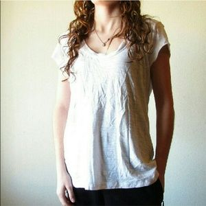 James Perse Standard White T Shirt Scoop neck 4